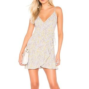 Free People All My Love Floral Wrap Dress